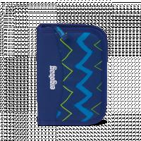 Školní penál Ergobag - Modrý zig zag 2021