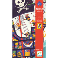 Puzzle - Pirátská loď - 36 ks
