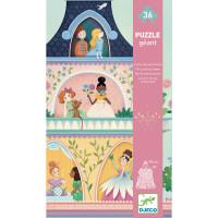Puzzle - Princezny ve věži - 36 ks