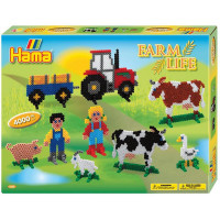Hama Midi -  Velká dárková sada - Farma