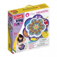 Play Creativo String Art Mandala – kreslenie pomocou nití a kolíčkov