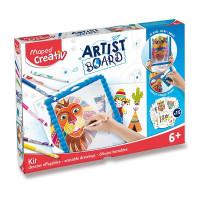 Súprava MAPED Creativ Artist Board - Transparentná tabuľa na kreslenie