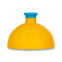 Náhradní víčko na Zdravou lahev, tmavě žlutá/modrá fluo