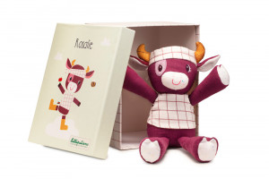 Lilliputiens - kravička Rosalie - hračka na mazlení