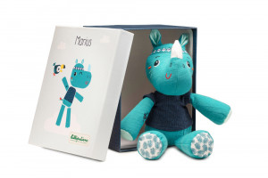 Lilliputiens - nosorožec Marius - hračka na mazlení