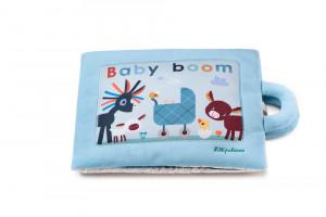 Lilliputiens - textilná didaktická knižka - Baby Boom