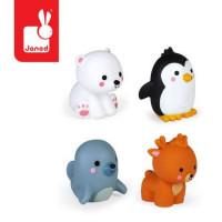 Polární zvířátka - hračka do vody - 4 ks