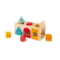 Dřevěná vkládačka - Tvary - série Montessori