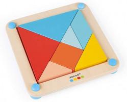 Origami Tangram s předlohami - série Montessori