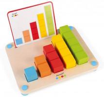 Počítanie s predlohami - séria Montessori