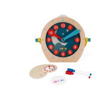 Učím sa hodiny a čas - séria Montessori