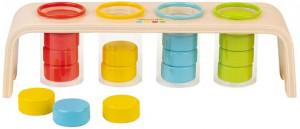 Vkladanie a triedenie s predlohami - séria Montessori