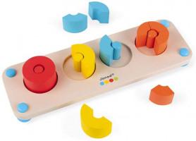 Zlomky - séria Montessori