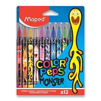 Dětské fixy Maped Color'Peps Monster 12 barev