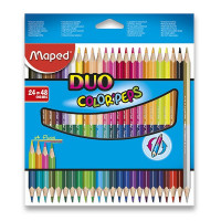 Pastelky Maped Color'Peps Duo - obojstranné pastelky, 48 farieb