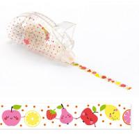 Dekorační lepicí páska - ovoce