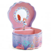 Hrací skříňka - Mořská panna
