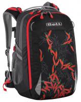 Školní batoh BOLL SMART Artwork Collection 24 l Chilli Peppers - black
