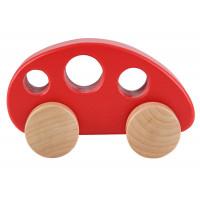 Mini autíčko červené