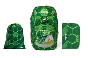 Školní set Ergobag prime Football - batoh + penál + sportovní pytel