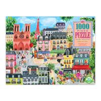 Puzzle - Den v Paříži - 1000 dílků