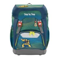 Školní batoh GRADE Step by Step - Autorobot + desky na sešity za 1 Kč