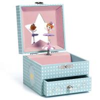 Hrací skříňka - Baletka s korunkou