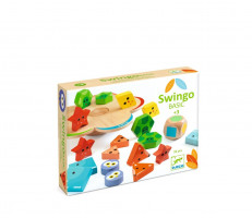 Swingo basic - balanční hra - tvary a barvy