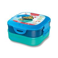 Veľký desiatový box Maped Picnik Concept Kids modrý, 1,4 l
