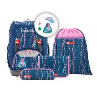 Školní batoh Step by Step - GRADE set - Mořská víla