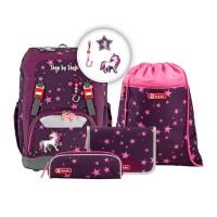 Školní batoh Step by Step - GRADE set - Jednorožec