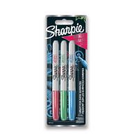 Permanentní popisovač Sharpie Metallic blistr - 3 barvy