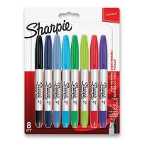 Permanentní popisovač Sharpie Twin Tip - 8 barev