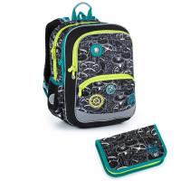 Školní batoh a penál Topgal BAZI 21014 B