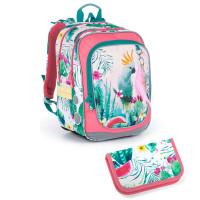 Školní batoh a penál Topgal ENDY 21002 G