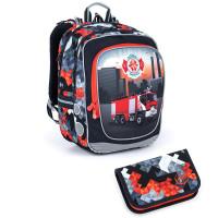 Školní batoh a penál Topgal ENDY 21013 B
