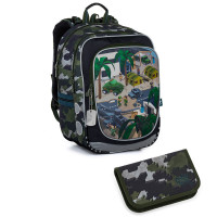 Školní batoh a penál Topgal ENDY 21016 B