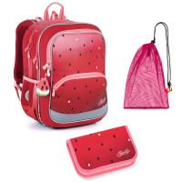 Školní set Topgal BAZI 21003 G - batoh + penál + pytlík na přezůvky