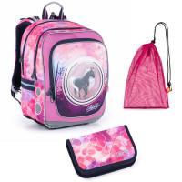 Školní set Topgal ENDY 21005 G batoh + penál + pytlík na přezůvky
