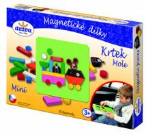 Magnetické dieliky Krtko – Mini