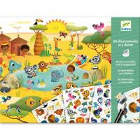 Hra s propisotem -  Savana, poušť a severní pól