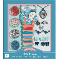 Súprava na výrobu šperkov – Perly a vtáčiky