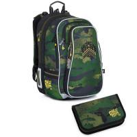 Školní batoh a penál Topgal LYNN 21018 B