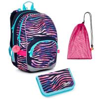 Školní set Topgal KIMI G 21010 batoh + penál + pytlík na přezůvky
