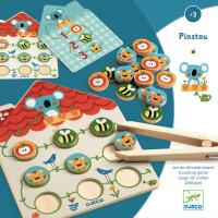Pinstou - motorická hra s počítáním
