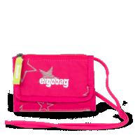 Peňaženka Ergobag - ružová hviezda