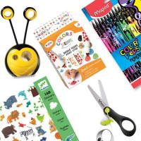 Balíček výtvarných potřeb pro děti od 4 let