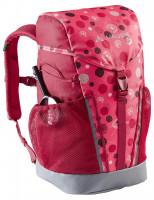 Dětský batoh Vaude Puck 10, bright pink/cranberry