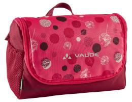 Dětská kosmetická taštička Vaude Big Bobby, bright pink/cranberry