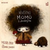 Děvčátko Momo a ukradený čas - audiokniha CD MP3